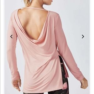 Fabletics Emerson Dusty Rose Long Sleeve Top! ❤️